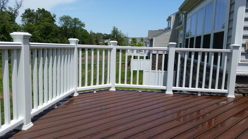 Pricing for White composite decking